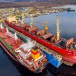 "M/V ""FEDERAL ELBE dry dock at MTG Dolphin Shipyard"