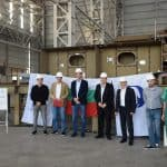 KEEL LAYING OF BN 1402