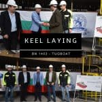 KEEL LAYING OF BN 1403