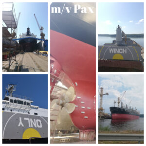 Another successful installation of BWTS during routine dry-docking
