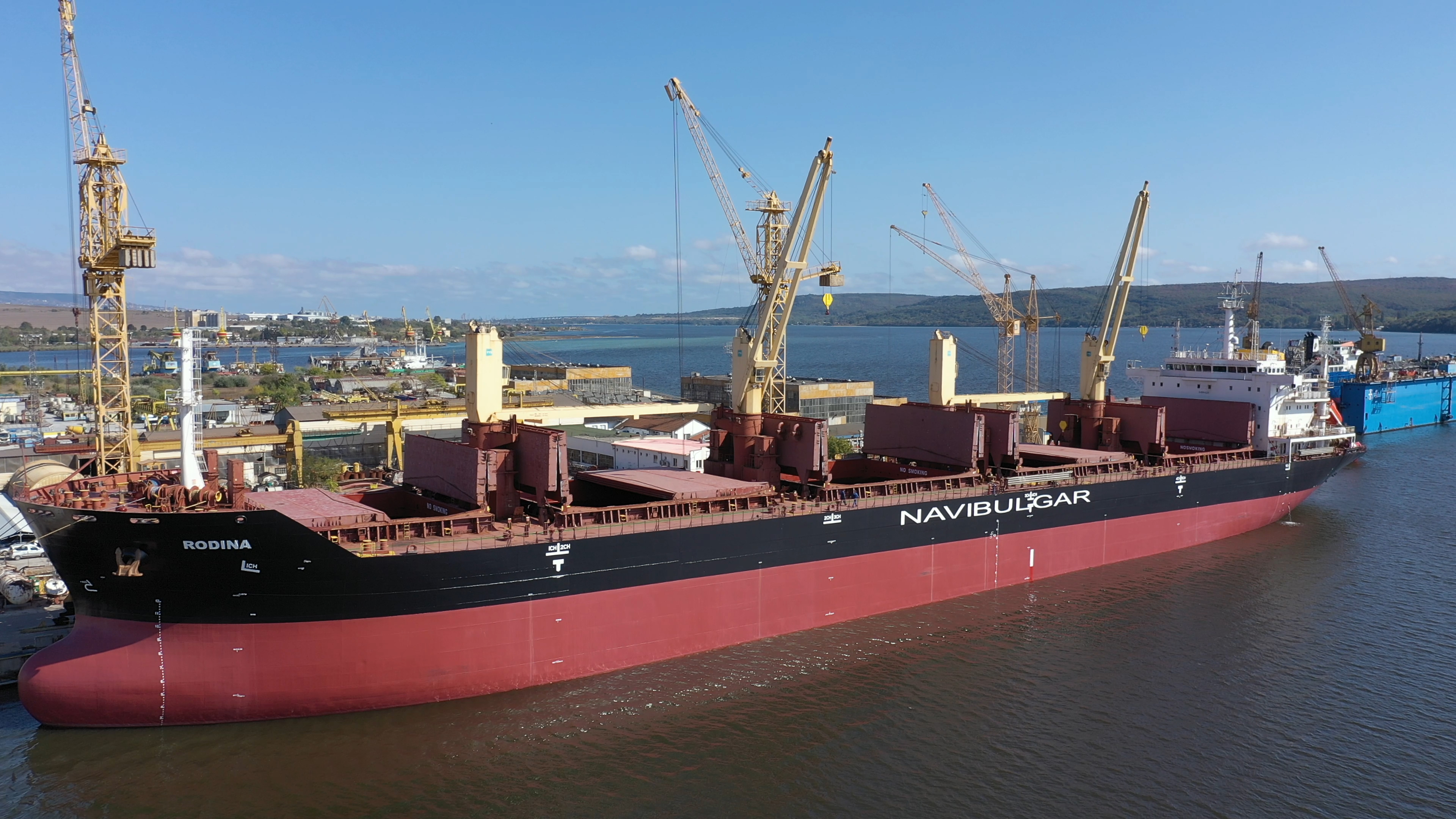 Another successful project has been completed at MTG Dolphin Shipyard